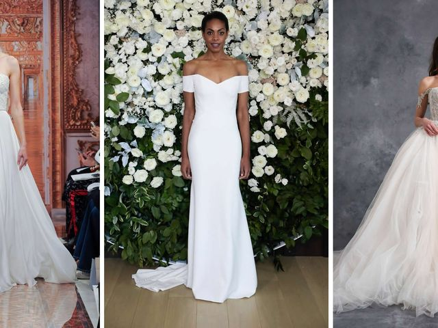 The 8 Wedding Dress Fabrics to Know Before You Shop