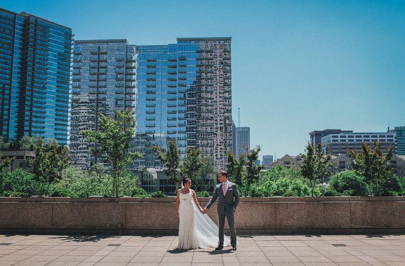 atlanta wedding couple