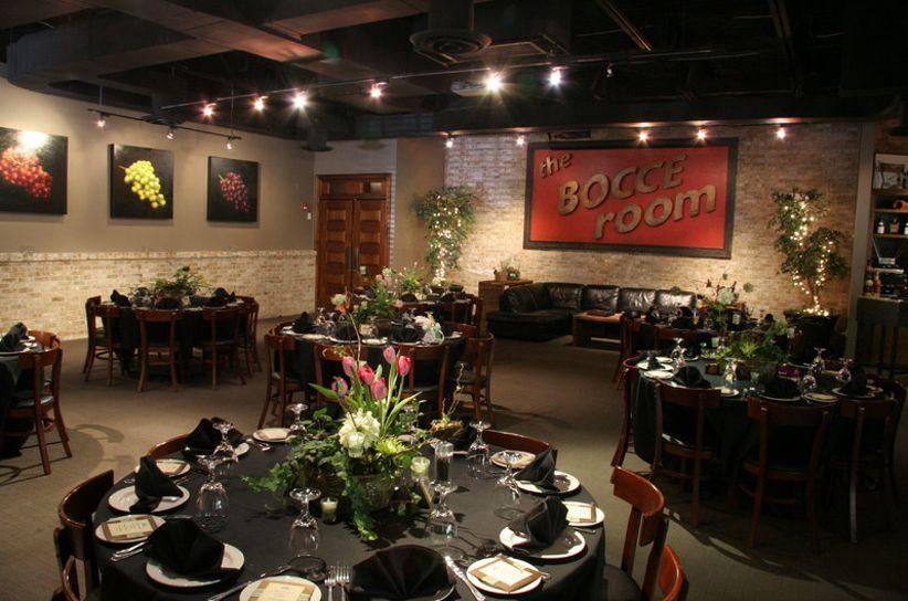bocce room at ippolitos wedding
