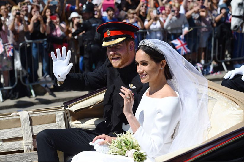 harry meghan carriage ride