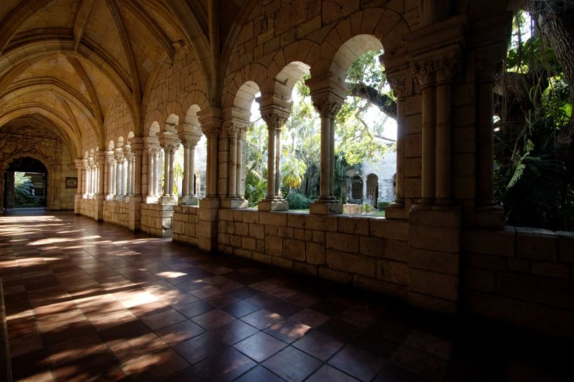 ancient spanish monastary