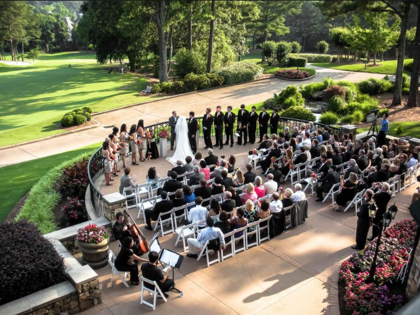 st ives country club wedding