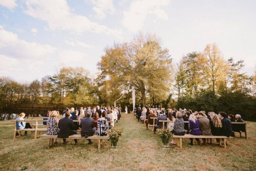 sweet meadow farm ga wedding ceremony