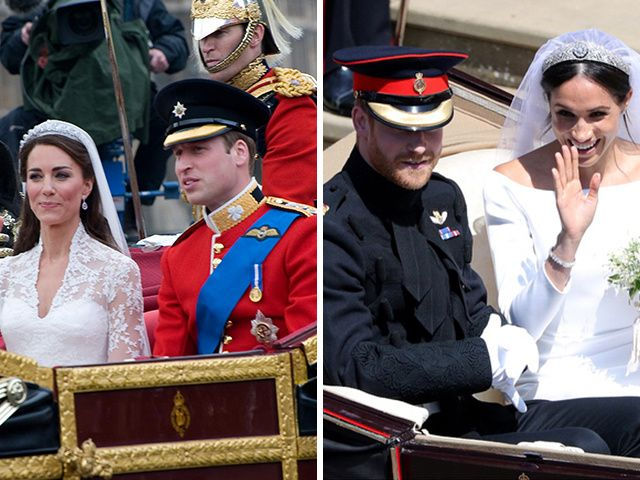 How Harry and Meghan's Wedding Differed from Will and Kate's