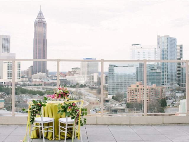 6 Rooftop Wedding Venues in Atlanta for Spectacular City Views