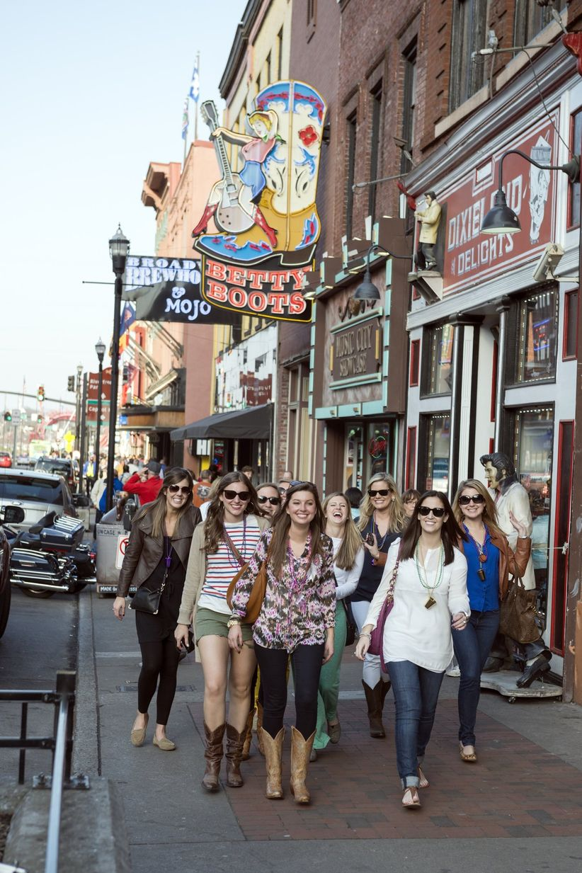 a nashville bachelorette party itinerary