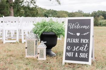 How to Handle a Lopsided Wedding Guest List