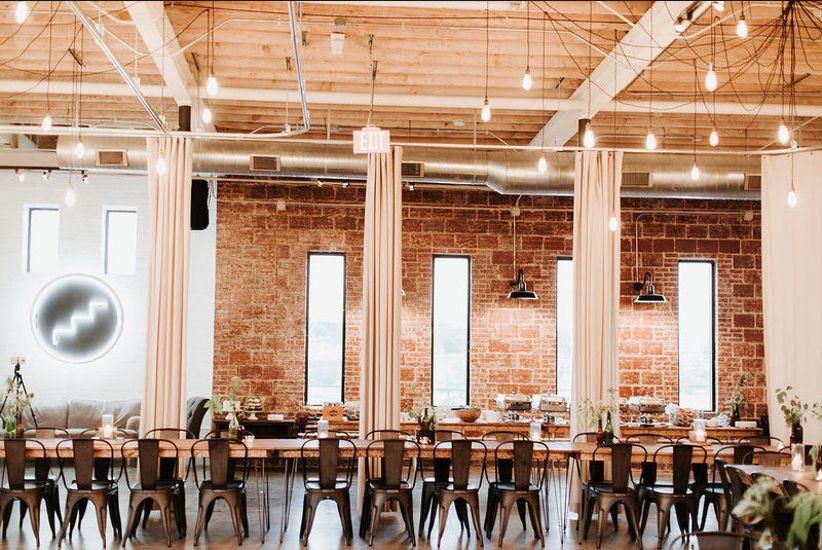 12 industrial wedding venues in atlanta for the ultimate rustic