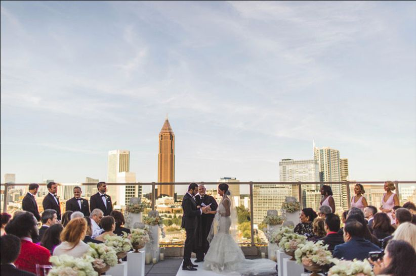 ventanas atlanta wedding ceremony