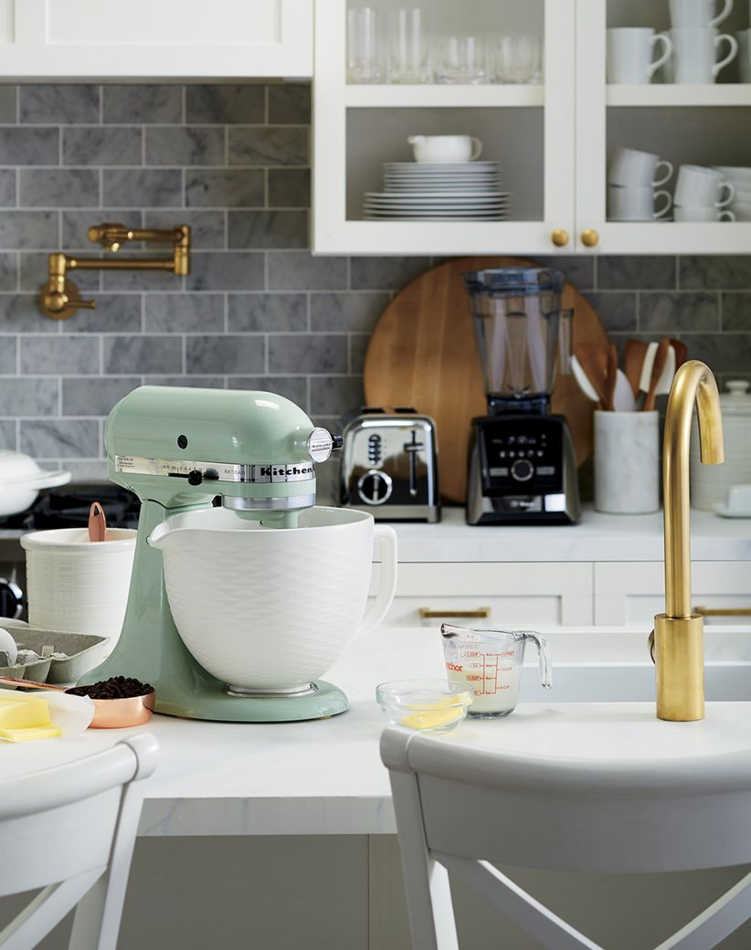 crate and barrel stand mixer
