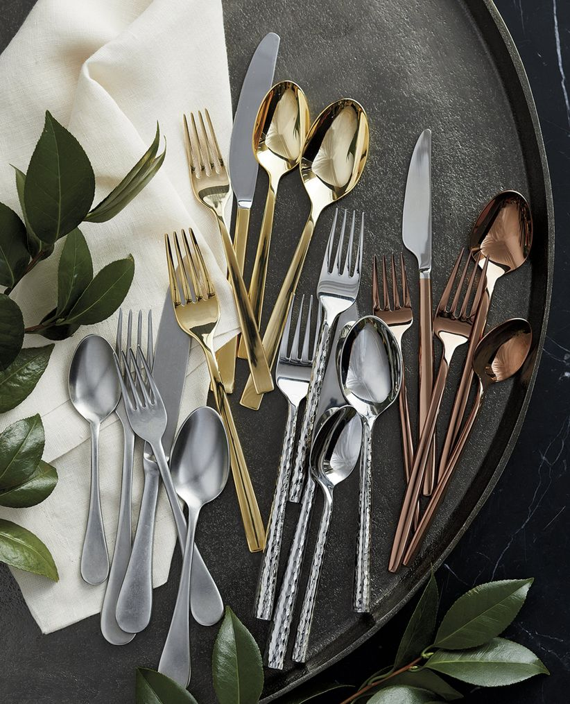 crate and barrel flatware