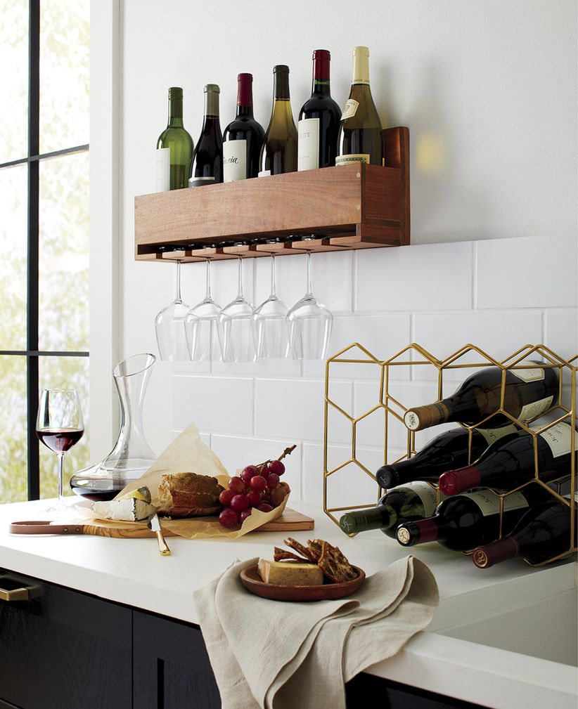 crate and barrel barware