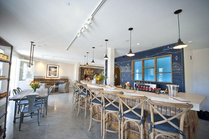 cozy winery wedding venue in Summerland California