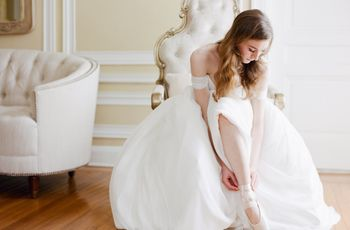 21 Ballet-Inspired Wedding Details for Your Inner Ballerina
