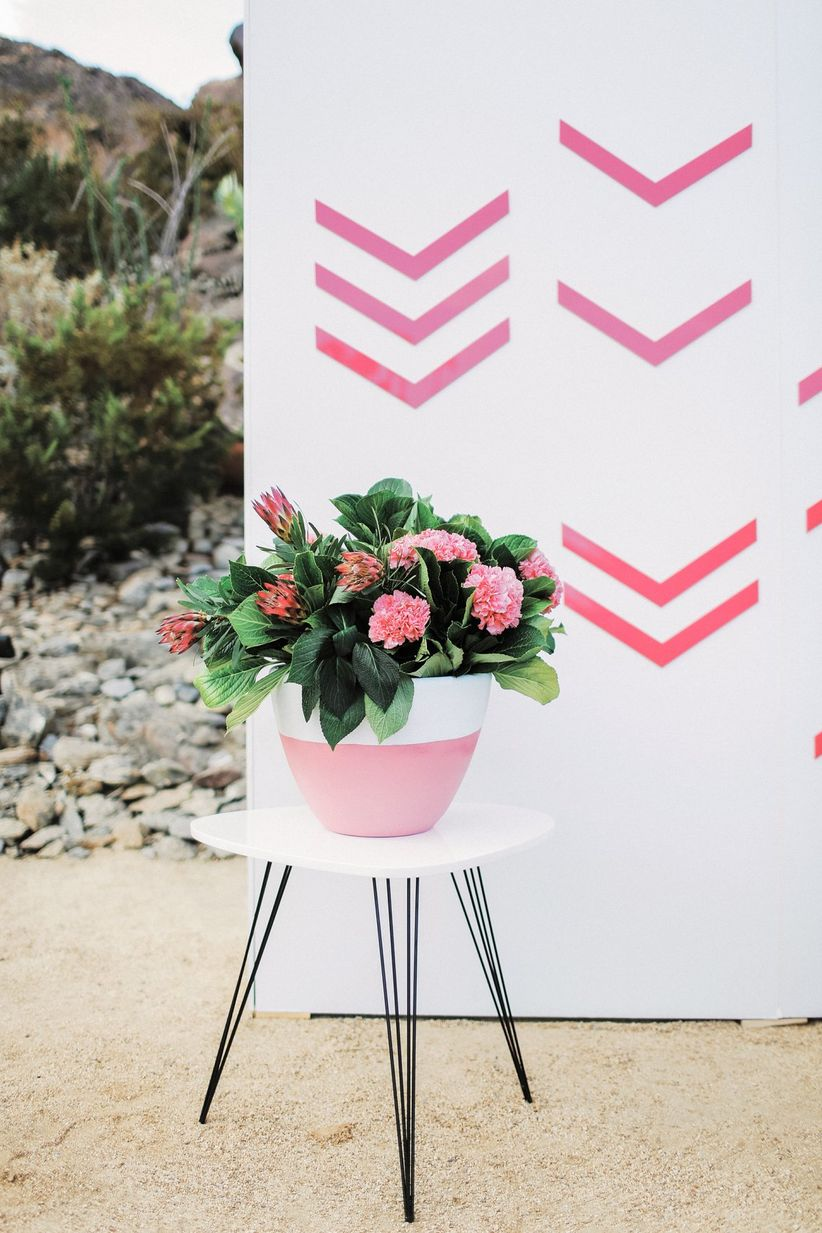 Potted Plants The Greenery Wedding Decor Trend Thats Totally