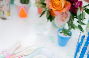 14 Watercolor Wedding Details for the Artist at Heart