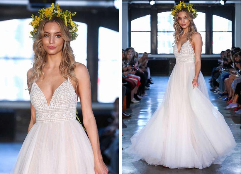 8 Boho Wedding Dresses That Will Leave You Wonderstruck - WeddingWire