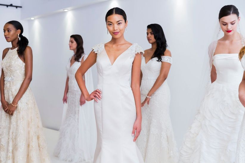 All The Wedding Dress Necklines You Need To Know Weddingwire