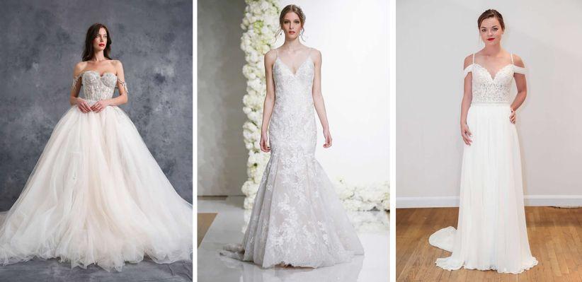The 7 Wedding Dress Silhouettes Defined Weddingwire