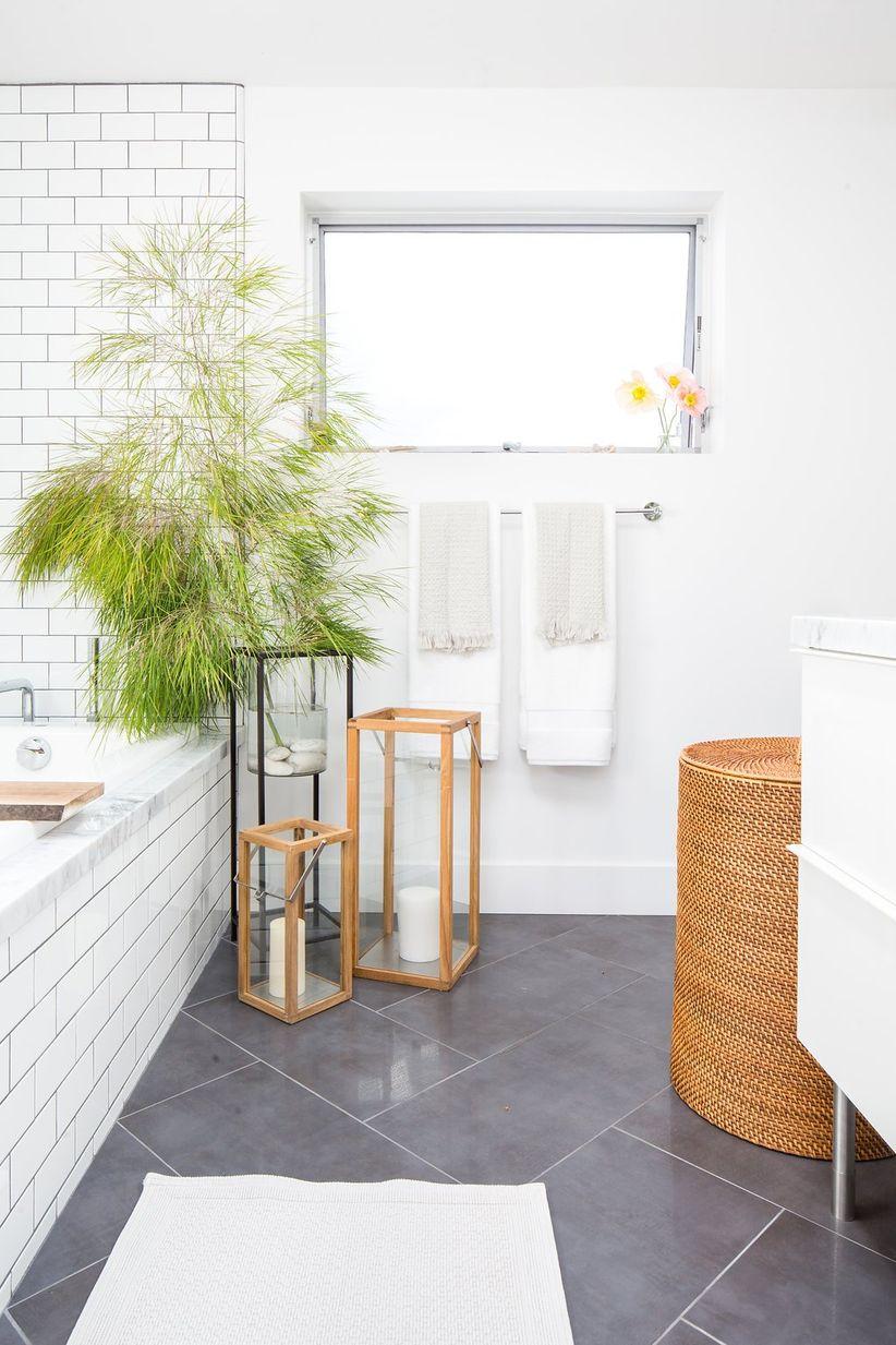crate and barrel bathroom decor