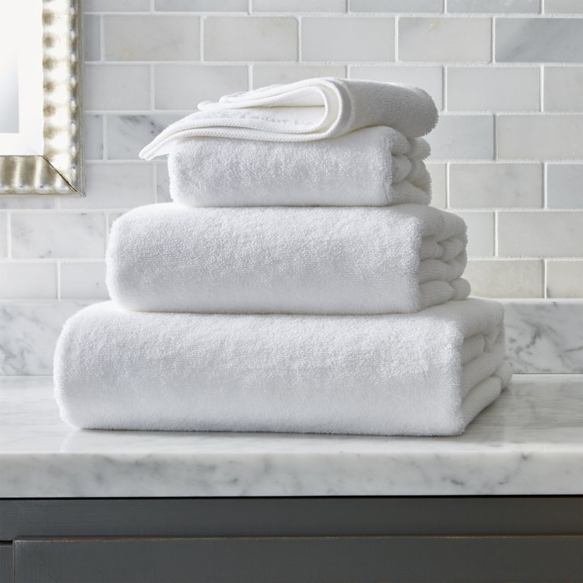 crate and barrel towels