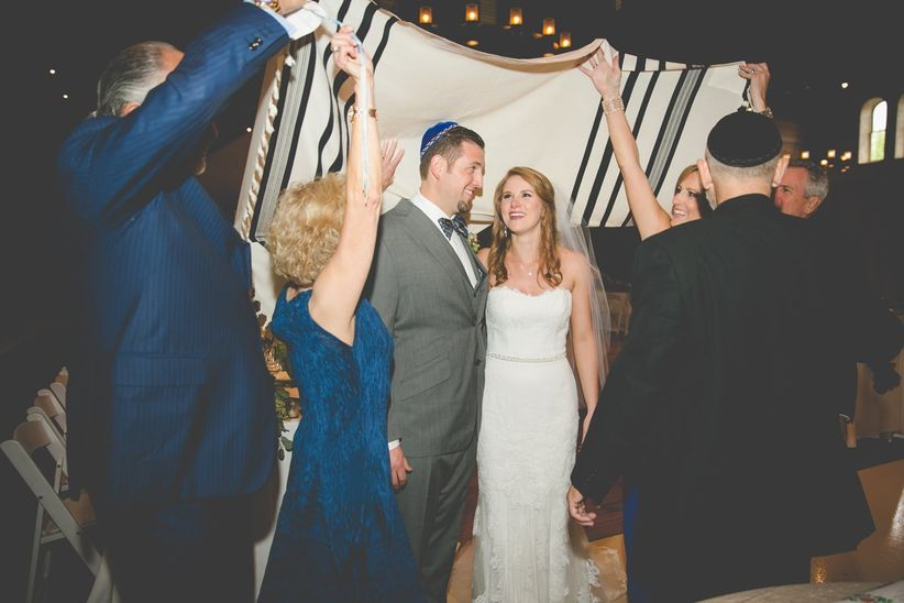 couple tallit wedding