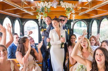 Why Renting a Shuttle Might Be the Best Money You Spend on Your Wedding