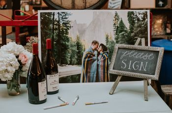 14 Non-Traditional Wedding Guest Book Ideas We Love