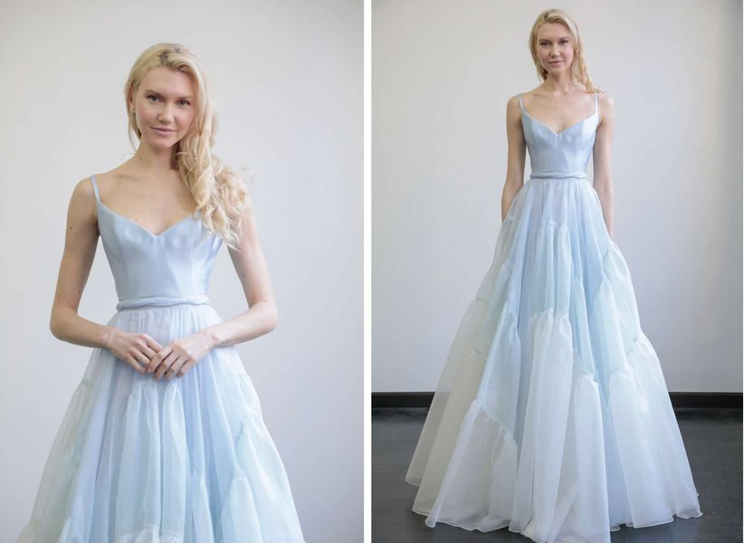 7 Colored Wedding Dresses for the Bride Who Doesn\'t Want to Wear ...