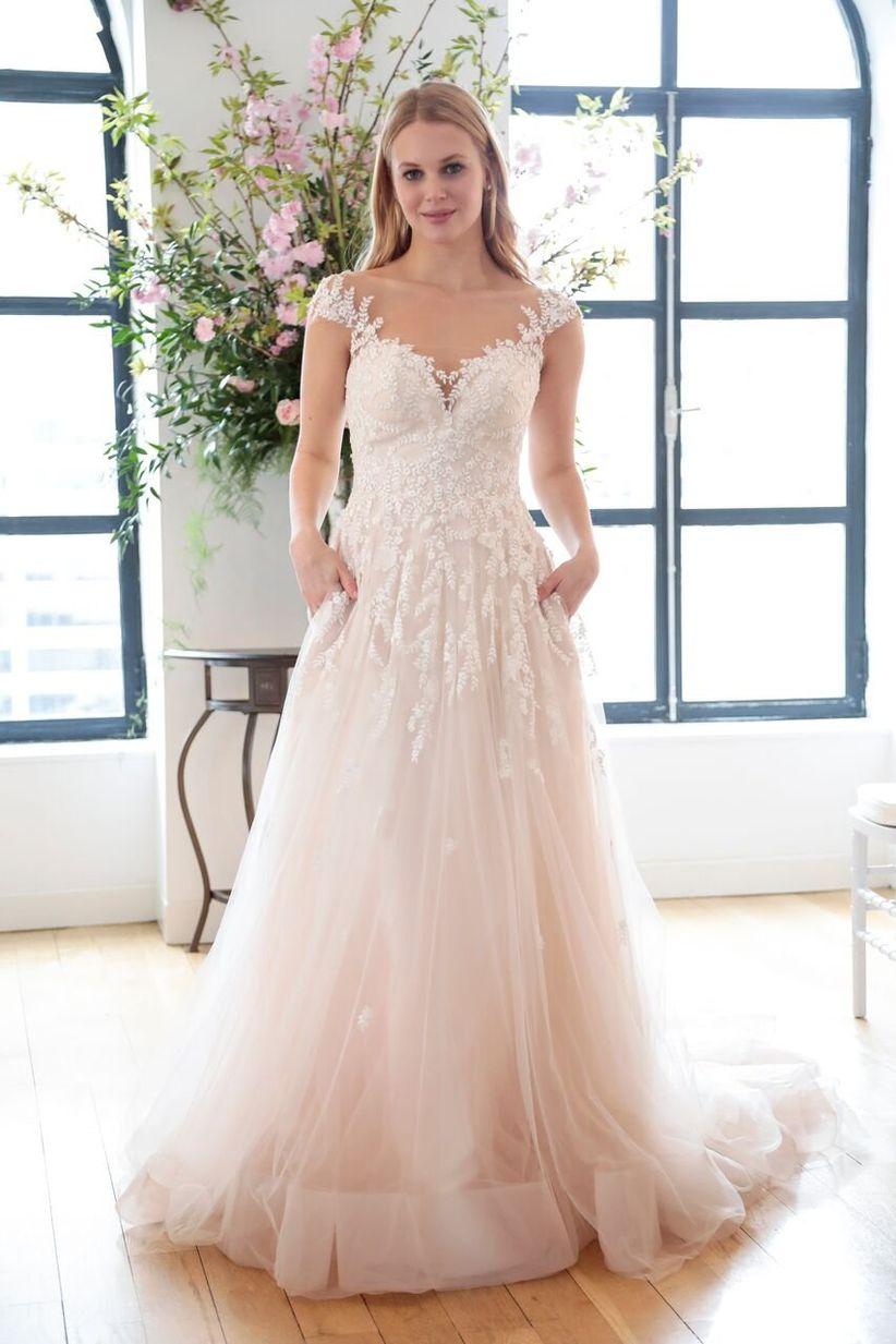 Orange Wedding Dress