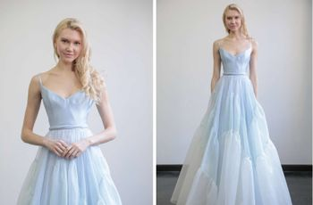 7 Colored Wedding Dresses for the Bride Who Doesn't Want to Wear White