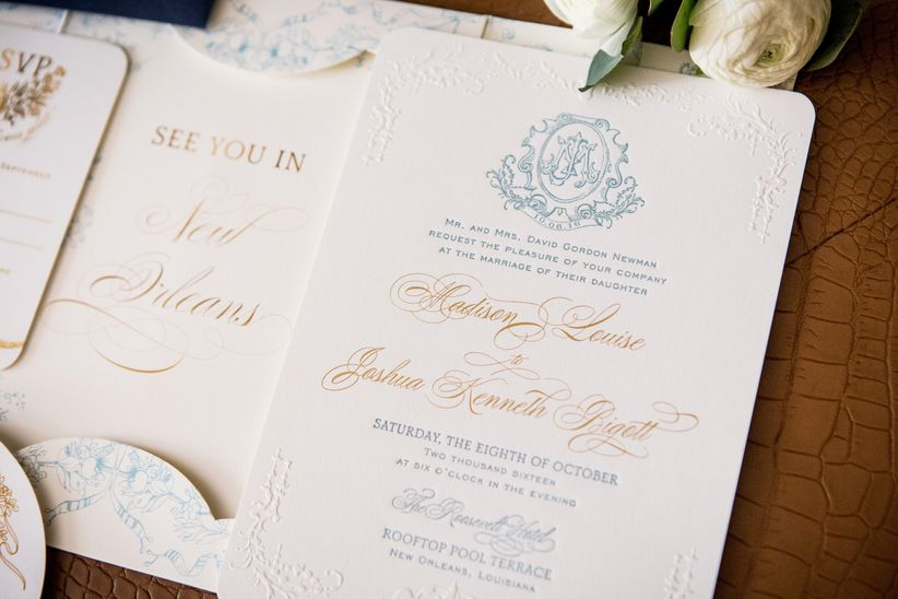 New Wedding Invitation Ideas: The Wedding Invitation Trends 2019 Couples Must See