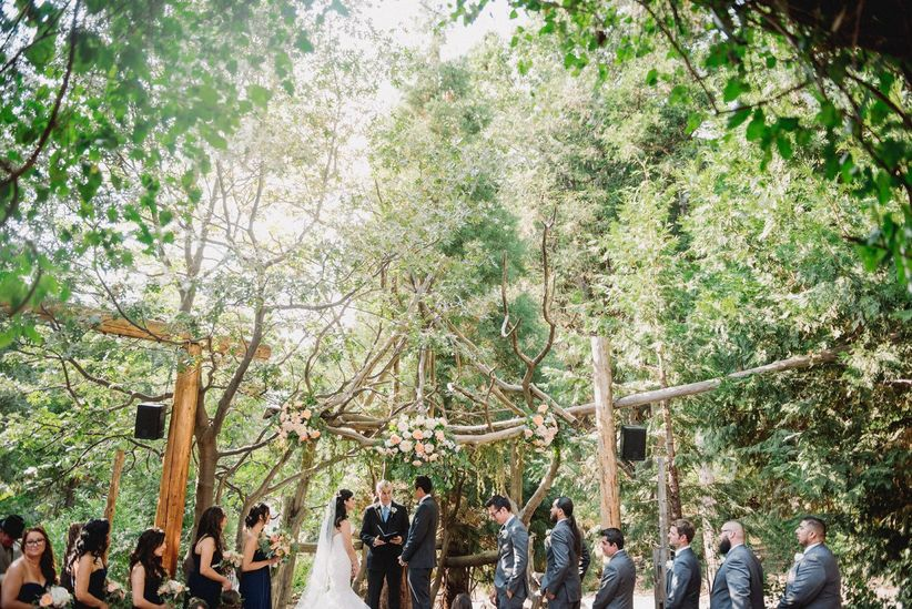 arrowhead pine rose wedding