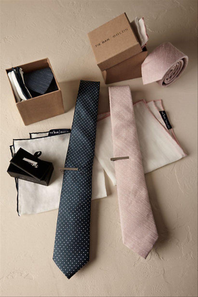 groomsman tie set