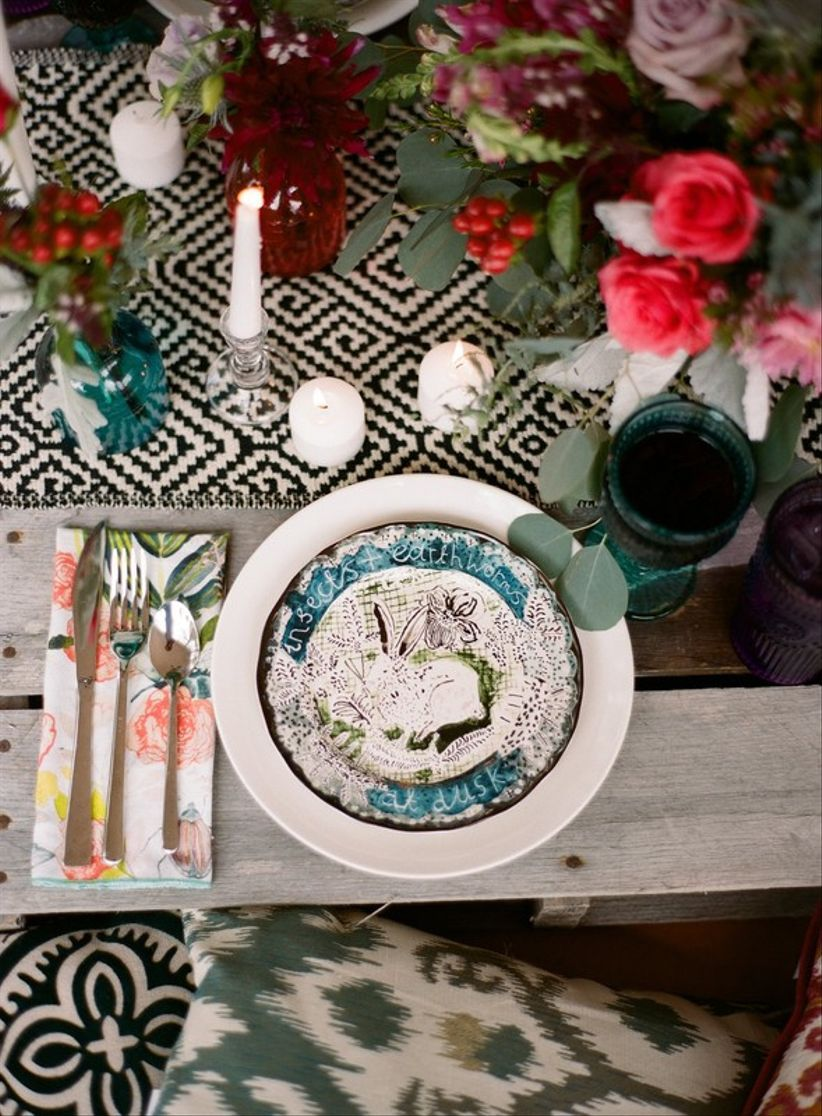 13 Wedding Place Setting Ideas For Every Style - WeddingWire