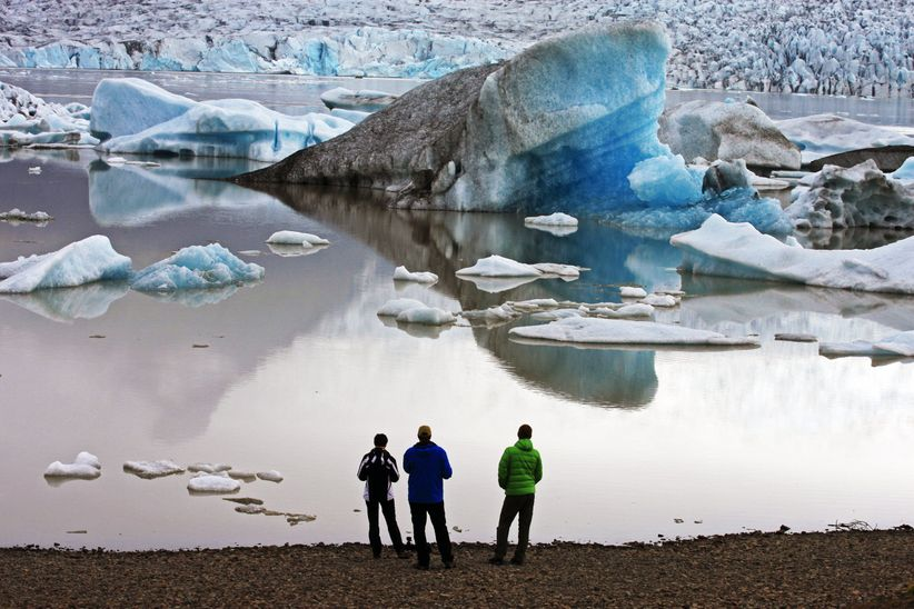 men in iceland