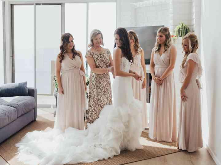 How To Preserve Your Wedding Dress Weddingwire