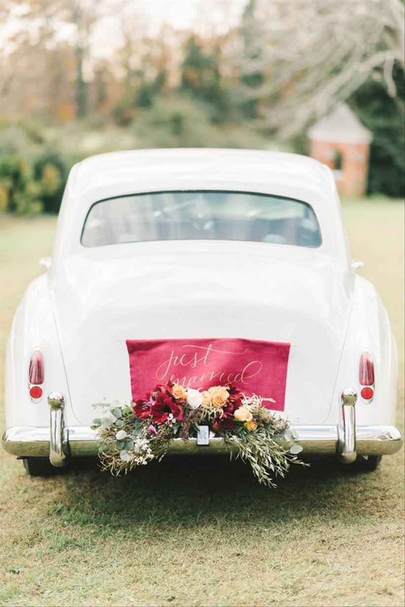 11 Wedding Car Decoration Ideas for a Memorable Send-Off - WeddingWire
