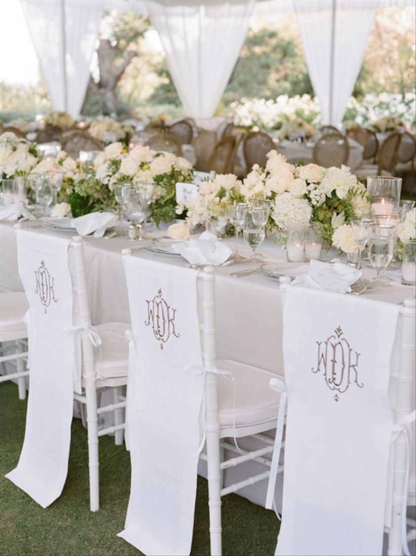 This White Wedding Decor Is Straight Out Of A Dream Weddingwire