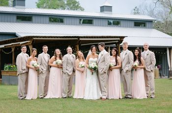 The Barn Wedding Venues in Louisiana Rustic Couples Love