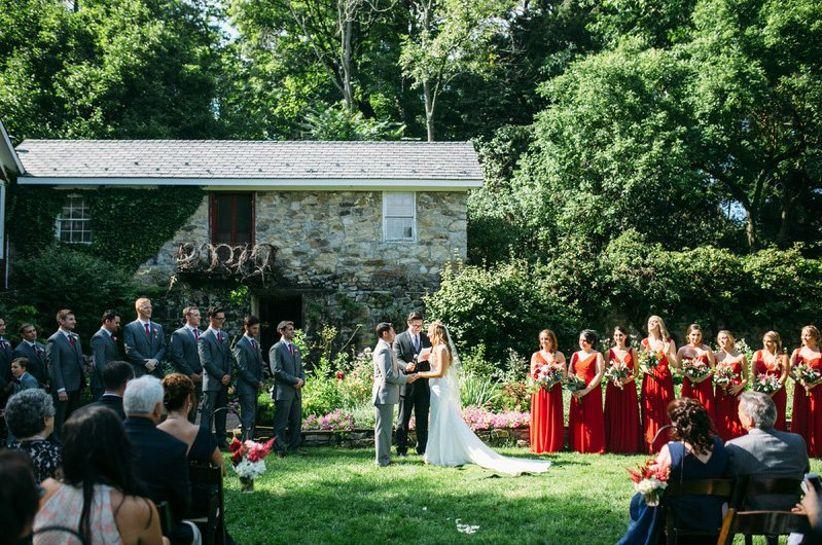 crossed keys estate wedding