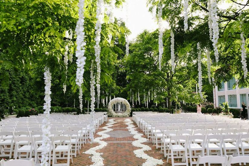 11 Outdoor Wedding Venues In New Jersey For The Ultimate Garden