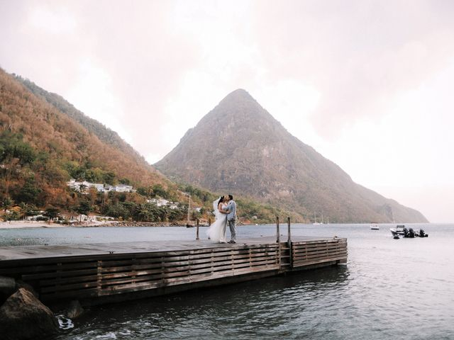6 St. Lucia Destination Wedding Venues Featuring Some Truly Breathtaking Scenery