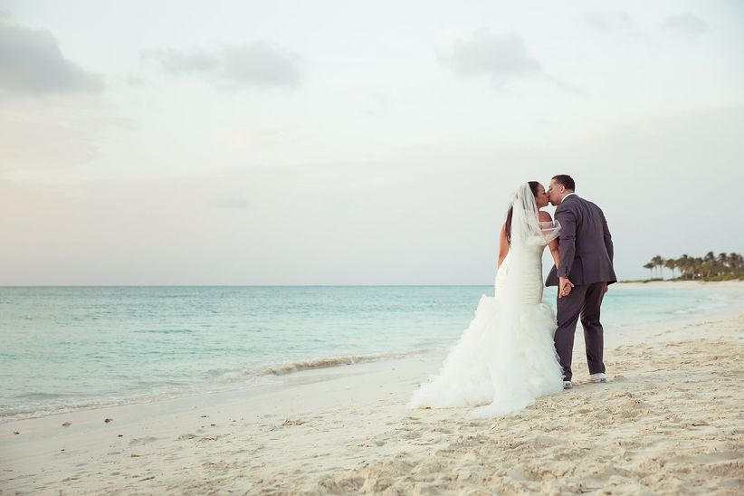 beach wedding in turks and caicos