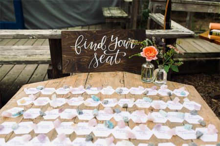 Escort Cards vs. Wedding Place Cards: What They Are & When to Use Them