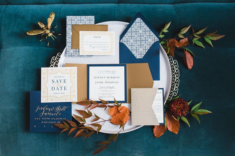 Fall Color Wedding Invitations: 21 Fall Wedding Colors & Palettes That Feel Totally Modern