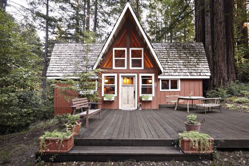 redwood forest wedding venue in California