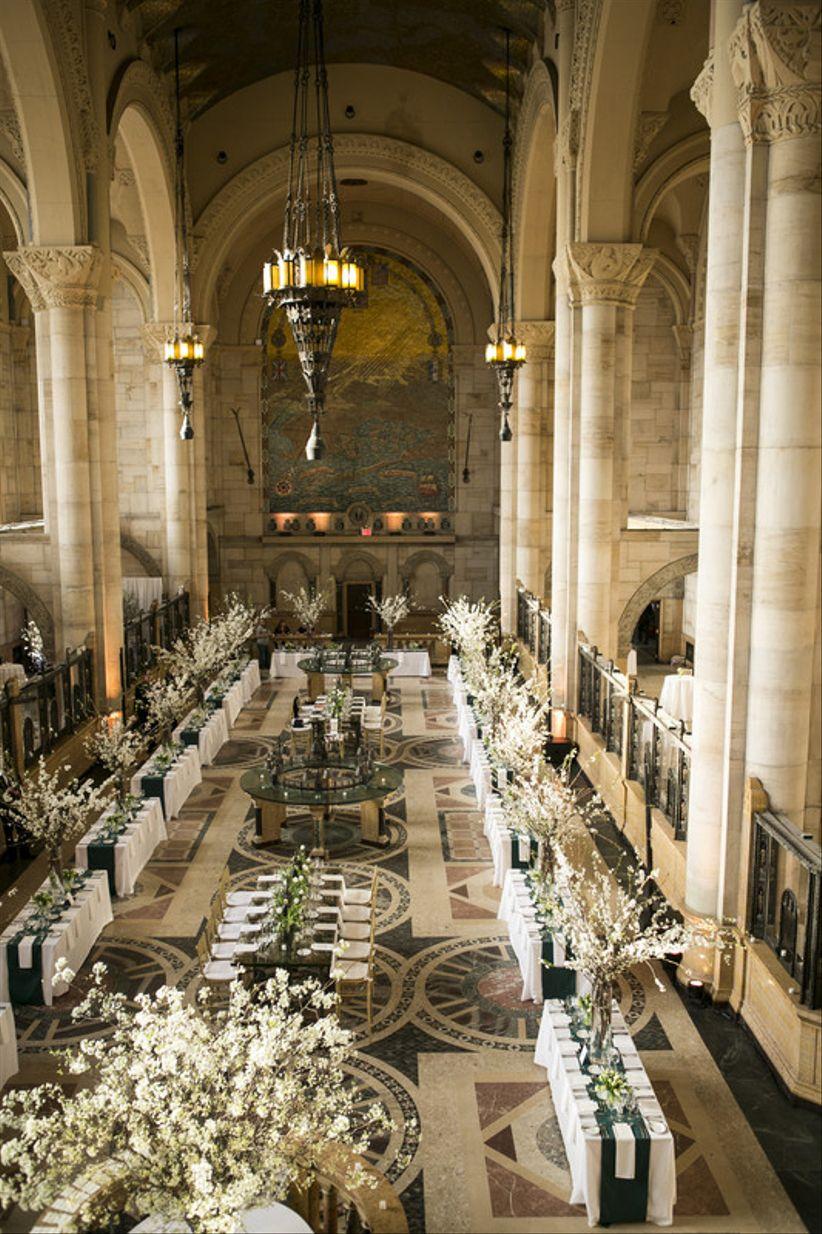 formal wedding reception NYC