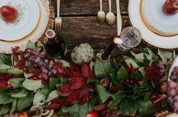 16 Winter Wedding Color Palettes for a Festive Celebration