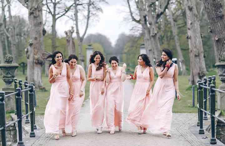 Indian Bridesmaid Dresses To Inspire Your Maids Weddingwire,Bride Wedding Reception Dress Best Bridal Reception Dresses